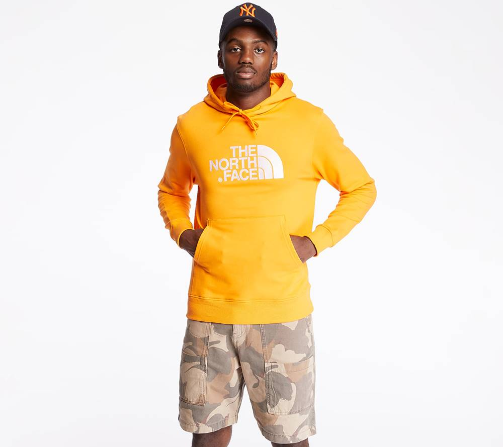 The North Face The North Face Light Drew Peak Hoodie Flame Orange