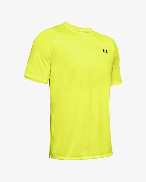 Žlté tričko Under Armour