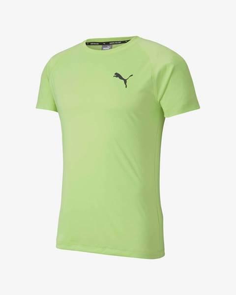 Zelené tričko Puma