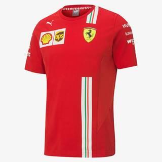 Puma Ferrari SF Leclerc Replica Tričko Červená