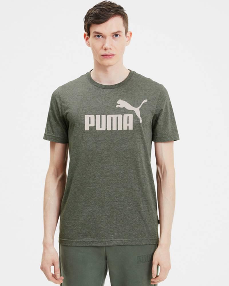 Puma Puma Essentials+ Heather Tričko Zelená