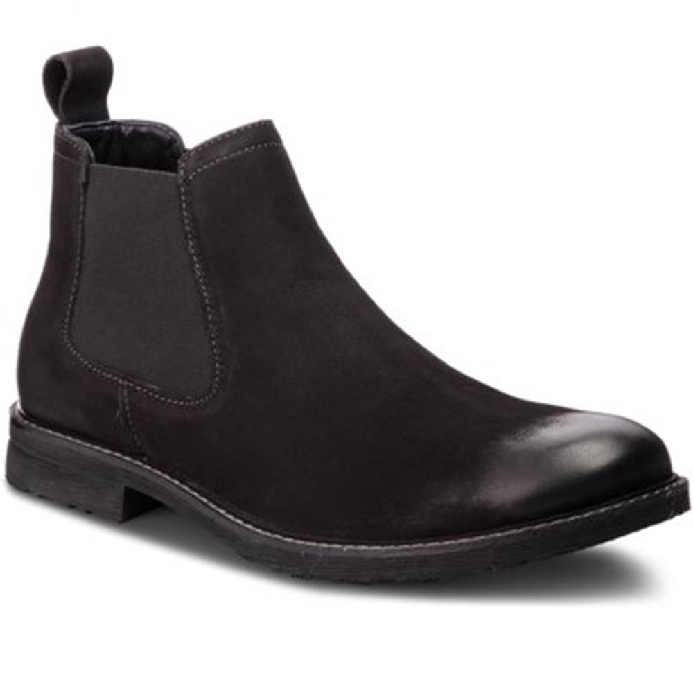 Lasocki for men Členkové topánky Lasocki for men MI08-C307-250-02 nubuk,koža(useň) lícová