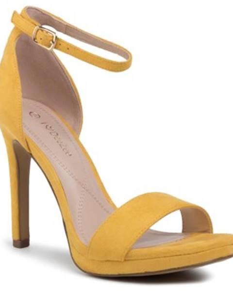 Žlté sandále DeeZee