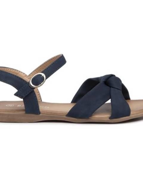 Tmavomodré sandále Bassano