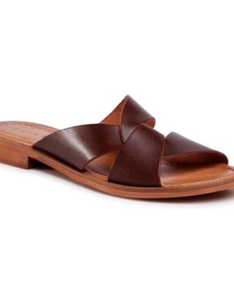 Hnedé sandále Lasocki