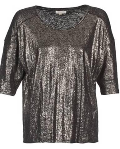 Strieborné tričko Miss Sixty