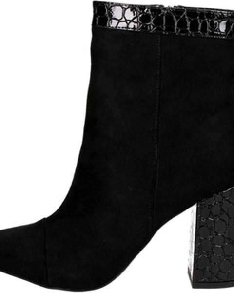 Čierne čižmy Maria Mare