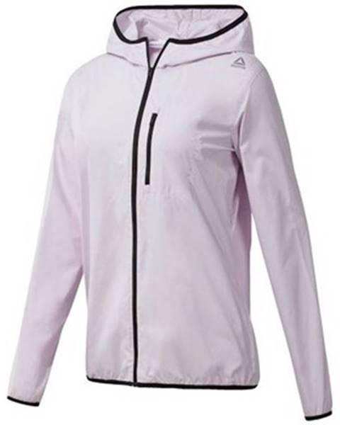 Ružová bunda Reebok Sport