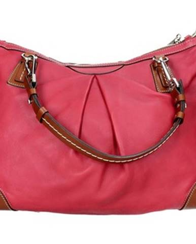 Červená kabelka Sem Vaccaro