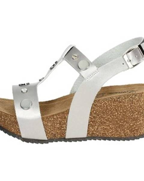 Strieborné sandále Lorraine