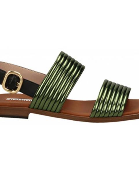 Zelené sandále Alberto Gozzi