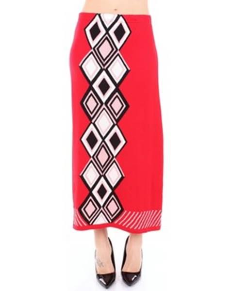 Červená sukňa Viki And