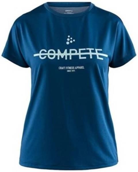Modré tričko Craft