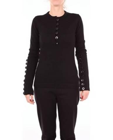 Čierna bunda Jil Sander
