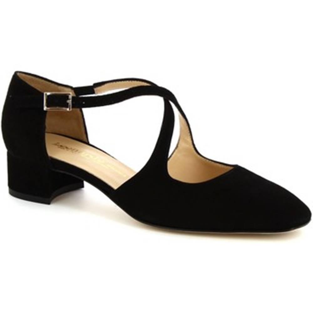 Leonardo Shoes Sandále Leonardo Shoes  8104 CAMOSCIO NERO
