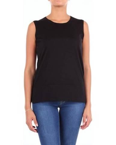 Čierne tričko Cruciani