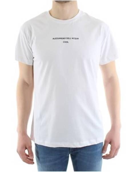 Biele tričko Alessandro Dell'acqua
