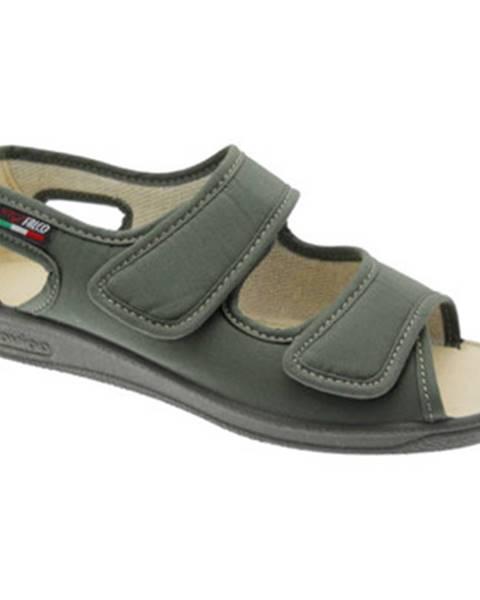 Zelené sandále Gaviga