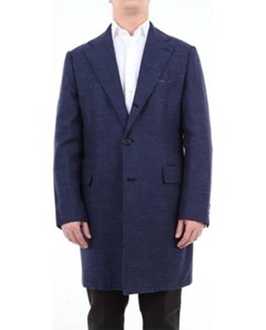 Modrý kabát Luigi Borrelli Napoli