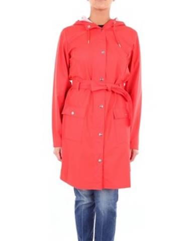 Červený kabát Rains