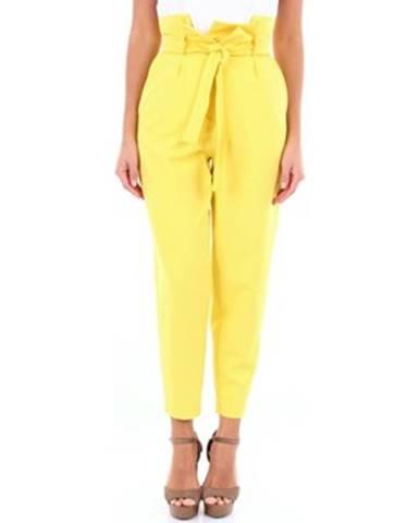 Žlté chino nohavice Actualee