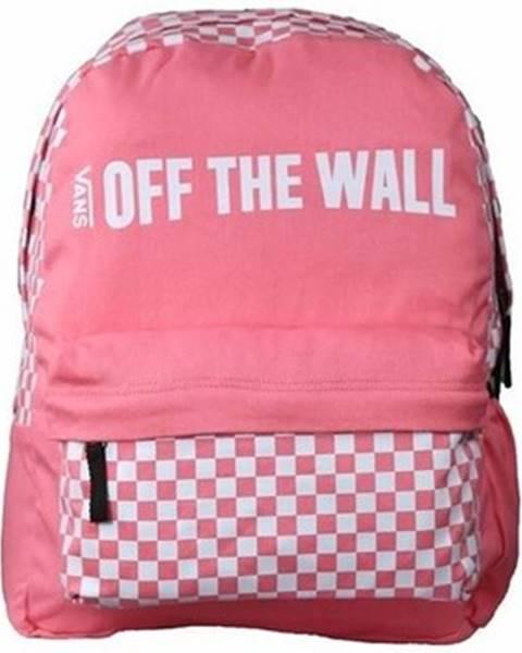 Ružový batoh Vans