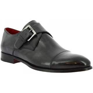 Mokasíny Leonardo Shoes  9452E20 TOM MONTECARLO DELAVE GRIGIO