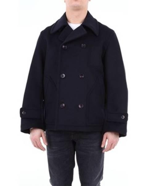 Modrý kabát Katharine Hamnett