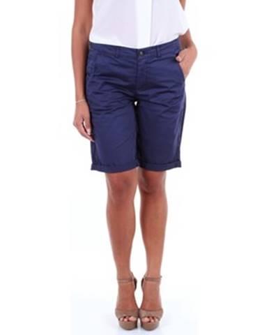 Modré šortky Woolrich