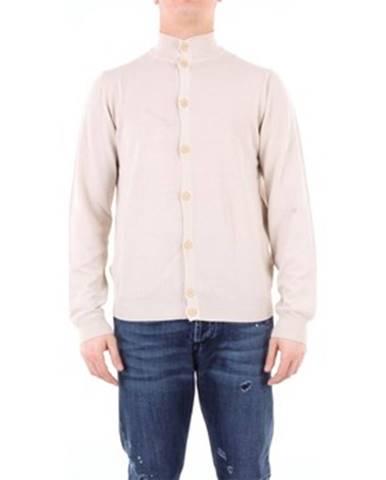 Biely sveter Heritage
