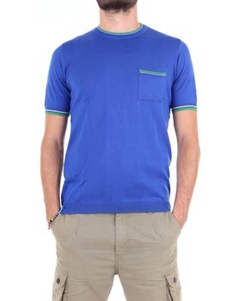 Modré tričko Michael Kurrier