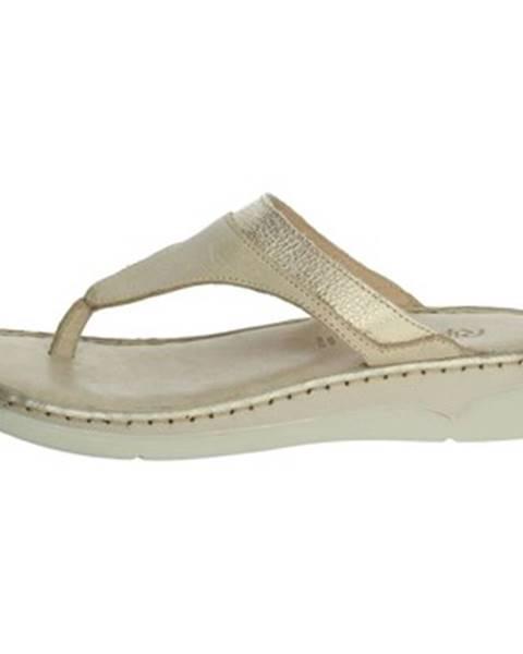 Béžové sandále Riposella