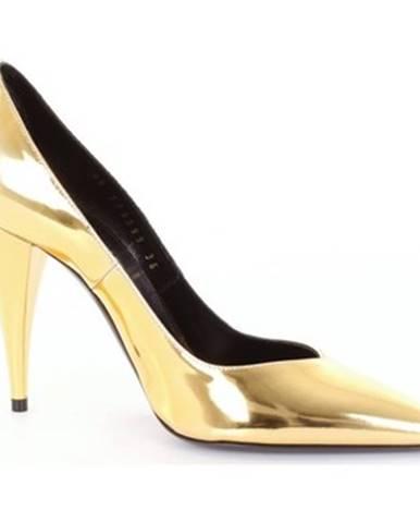 Zlaté lodičky Saint Laurent