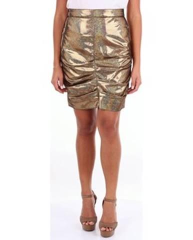 Zlatá sukňa Msgm