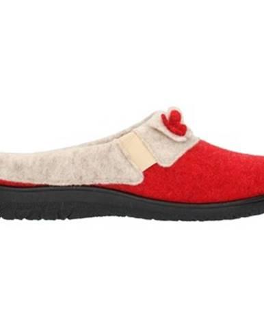 Červené papuče Clia Walk