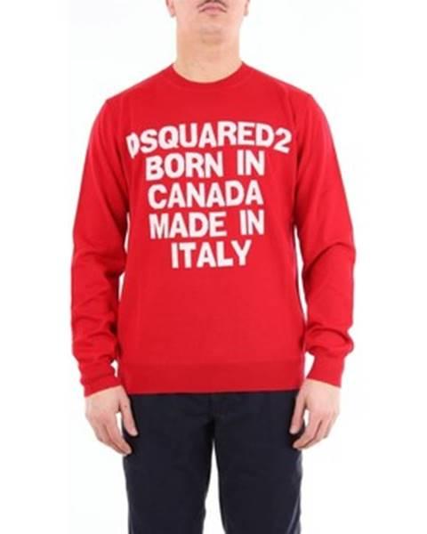 Červené tričko Dsquared