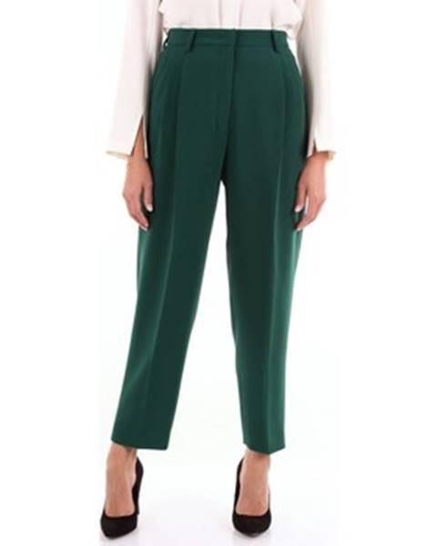 Zelené nohavice Alberto Biani
