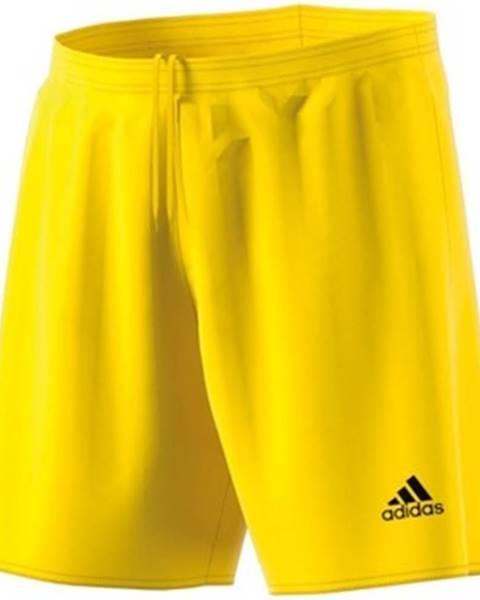 Žlté kraťasy adidas