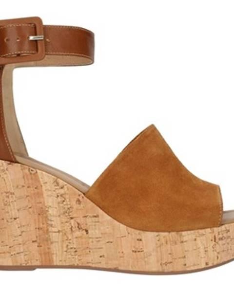 Hnedé sandále Nero Giardini