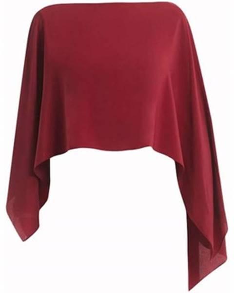 Červená šatka Marella