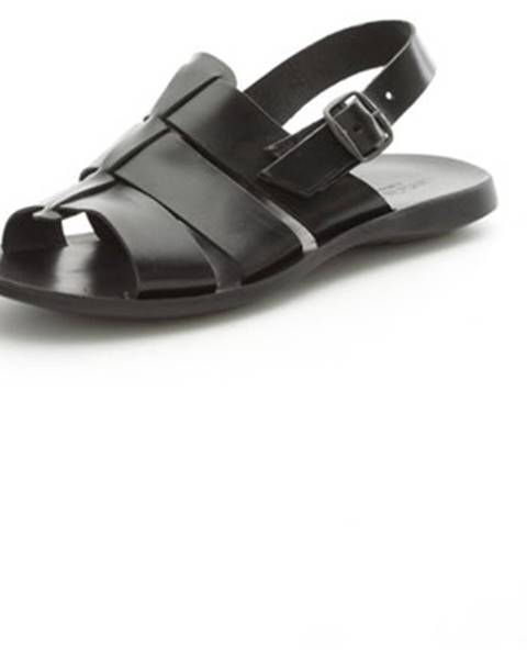 Čierne sandále Antichi Romani