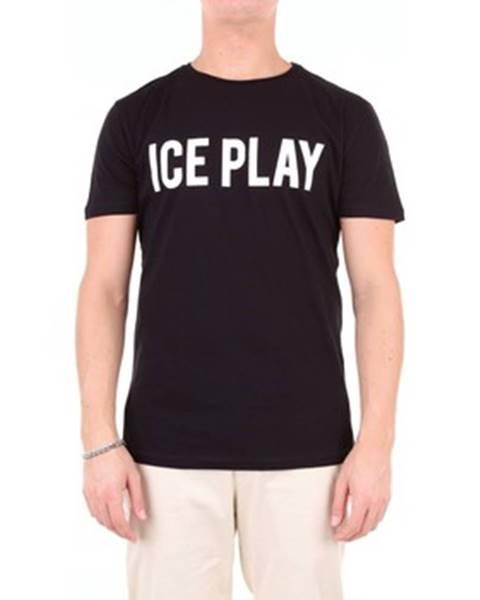 Čierne tričko Ice