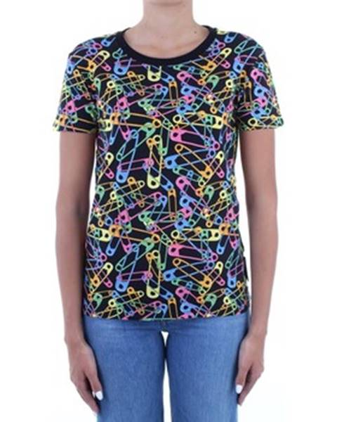 Čierne tričko Moschino