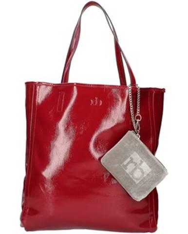 Červená kabelka Rocco Barocco