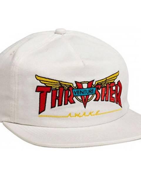 Biela čiapka Thrasher