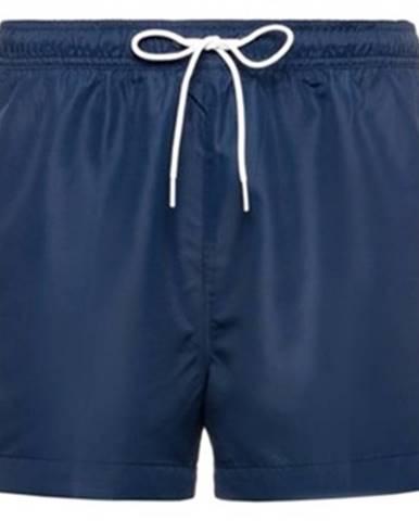Modré plavky Calvin Klein Jeans