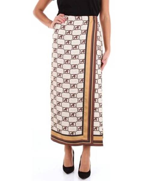 Viacfarebná sukňa Alberta Ferretti