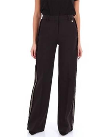 Čierne chino nohavice Versace