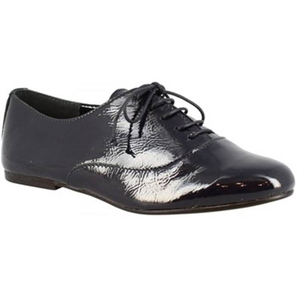 Leonardo Shoes Derbie Leonardo Shoes  936-80 NAPLAK BLU