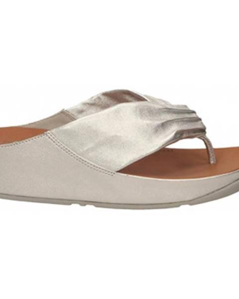 Strieborné sandále FitFlop